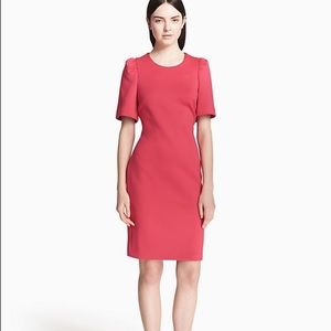 NWT Calvin Klein Scuba Sheath Dress